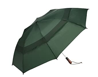 WindJammer by ShedRain 2044A-H Hunter 58-Inch Arc Vented Auto Open Jumbo Umbrella