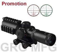 Compact CQB 15-5x32mm Scope RedGreen Illumination by GRG MFG