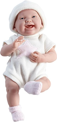 "Jc Toys La Newborn ""Pink Star"" 15"" Real Girl Doll"