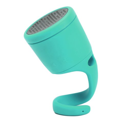 Boom Swimmer Waterproof Wireless Bluetooth Speaker (Green)