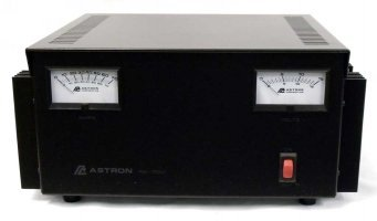 Astron 70 Amp Power Supply With Meters