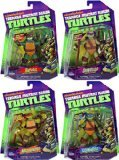 Nickelodeon-Teenage-Mutant-Ninja-Turtles-Set-of-4-Basic-Action-Figures-Leonardo-Michelangelo-Raphael-Donatello