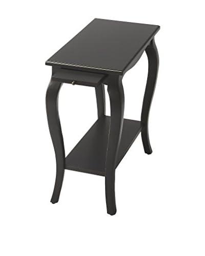 Butler Sabrina Chairside Table, Black