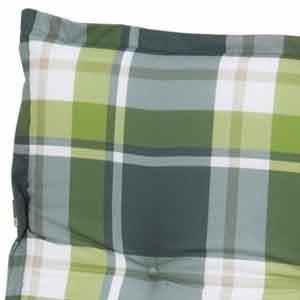 Sun Garden 10150311 Auflage Dessin Naxos 10443-200 für Hocker, 50% Baumwolle/50% Polyester L 45x B 50 x H 6 cm