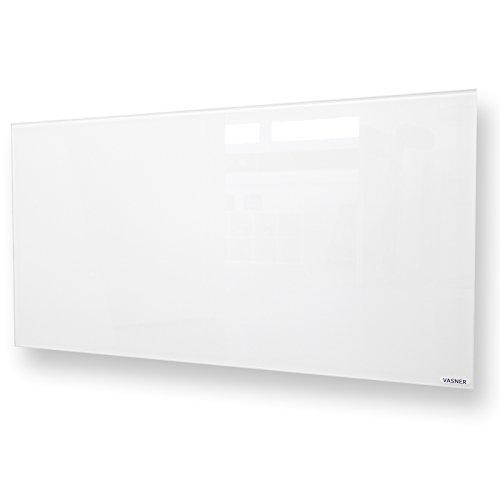 vasner citara glas infrarotheizung 900 watt wei 62x122cm. Black Bedroom Furniture Sets. Home Design Ideas