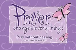 Pass it on message cards pk 25 ct with for Pray without ceasing coloring page