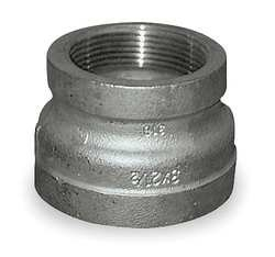 Industrial Grade 1LTR8 Reducing Coupling, 1 1/4 x 3/4 In, 304 SS