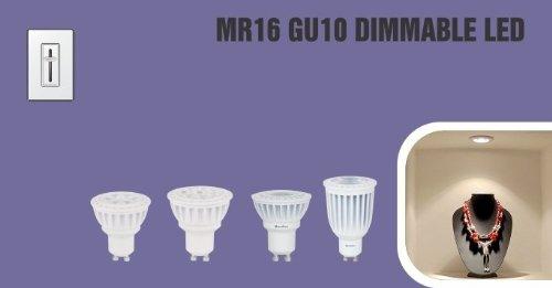Overdrive 7W Led Bulbs Mr Gu10 Dim Fl 5000K#44; Pack Of 24