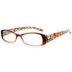 Orchard Fashion Reading Glasses with Floral Design for Youthful, Stylish Women
