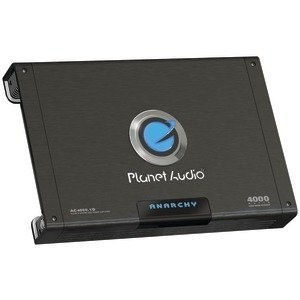 Planet Audio Ac4000.1D Anarchy Class D Mono Amplifier 4000W 2 Ohm Stable
