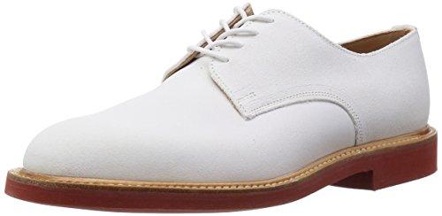 [マークマクナイリー] Mark McNairy Plain Derby Shoe 8538WS Suede White(Suede White/7H)