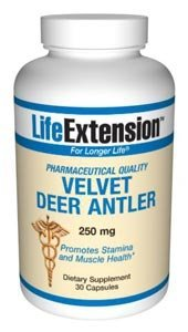 Life Extension, Velvet Deer Antler, 250 mg, 30 Capsules