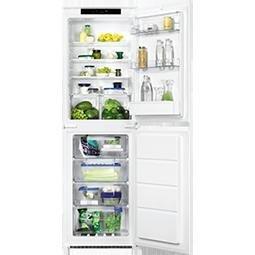 Zanussi ZBB27650SA 50-50 Integrated Fridge Freezer by Zanussi