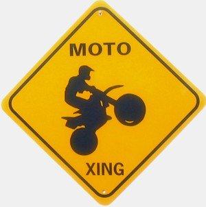 MOTO XING Aluminum Sign