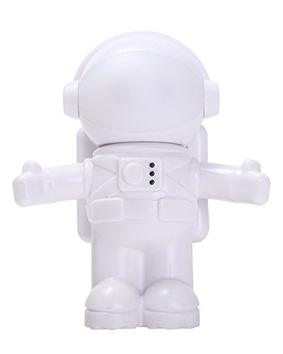Creative Design Energy Saving Astronaut Spaceman USB LED Adjustable Night Light Computer Laptop Notebook Lamp - 1