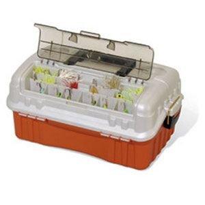 Amazon.com : Plano 7603 Flip Sider Three Tray Tackle Box : Fishing