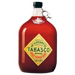 Tabasco Brand Garlic Pepper Sauce - Gallon by McIlhenny Company