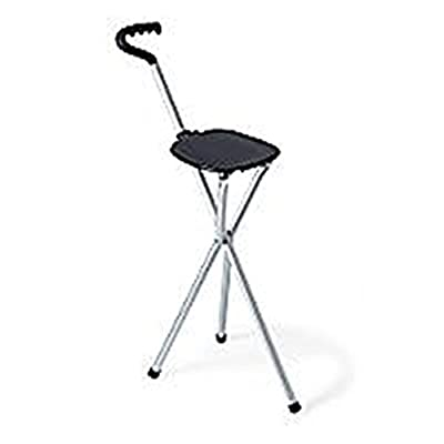 Improving Lifestyles Folding Cane with plastic seat Made in USA