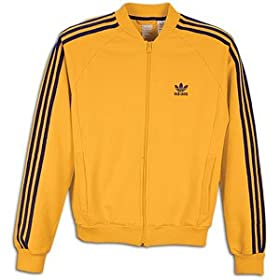 black and yellow adidas jacket