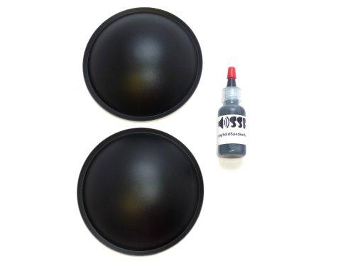 """4.5"""" Klipsch Klf-30 Poly Speaker Dust Cap Kit"""