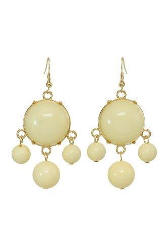 alexa-starr-goldtone-lucite-bubble-earrings-yellow