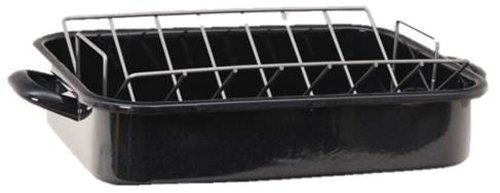 Granite Ware F5286-2 Heavy Gauge Roaster with Rack