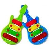 3pcs Baby Child Kid Cartoon Xylophone Guitar Toy Wisdom Development Musical Instrument
