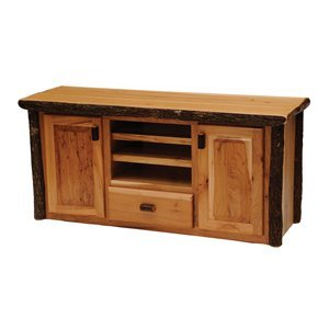 Cheap Fireside Lodge 84260-T Hickory Entertainment Center TV Stand (B005G7GGDC)