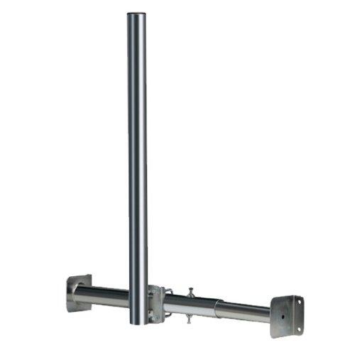 premiumx dachsparrenmasthalter mit 1 20m mast verstellbar dachsparrenhalter 120cm. Black Bedroom Furniture Sets. Home Design Ideas