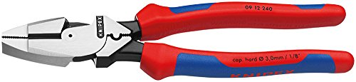 Knipex Tools 09 12 240 Linesman's Pliers
