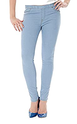EUDORA Women's Denim Skinny Stretchy Lady Bottoms Jeans Pencil Pants Trousers