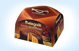 Gran Marnier Melegatti Traditional Italian Christmas Cake 750 Gr (27 Oz.)