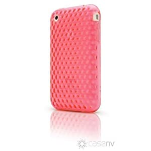 Case-FX Flex Diamond Case for iPhone 3G / 3GS (Pinkalicious) + Bonus: Case-FX Reveal Screen Protector for iPhone 3G / 3GS (Clear)