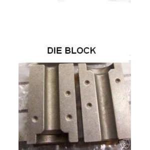 Clarik 4.75Mm Din 45 Deg Set Of Dies To Suit Brake Flare Tool