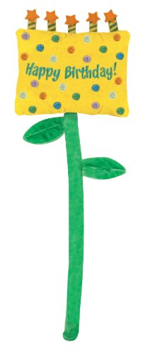 Stephan Baby Stand-Up Greetings Bendable Stem Happy Birthday Sign, Yellow/Green (Banner Coil Clean compare prices)
