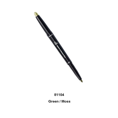 e.l.f. Studio Eyeliner & Shadow Stick Green Moss