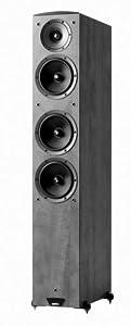 Jamo C607 Floor Standing Speaker (Single, Black)