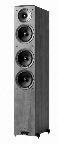 Jamo C607 Floor Standing Speaker (Single, Black)