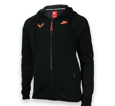 NIKE Herren Jacke Premier Rafa Windrunner, Black/Hot Lava, XXL, 644733-010 online kaufen