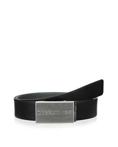 Cerruti 1881 Men's Cintura Uomo Plaque Belt