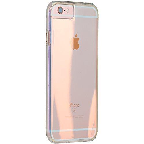 【透き通る 色彩】 Case-Mate 日本正規品 iPhone6s / iPhone6 4.7 inch 対応 ハイブリッド タフ ネイキッド ケース, イリデセント Hybrid Tough Naked Case, Iridescent 【デュアルレイヤー 透明 耐衝撃タフネス】 CM034202