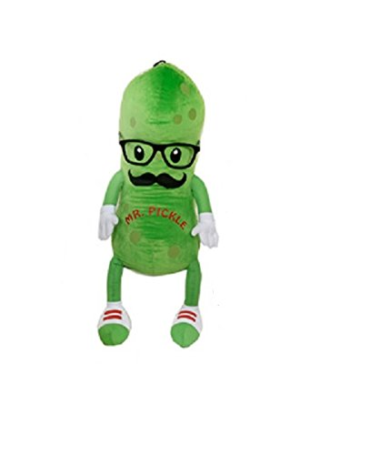 "Fiesta Toy Mr. Pickle with Mustache and Glasses - 12"" - 1"