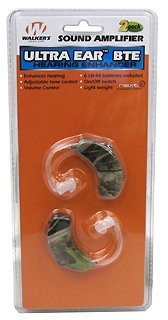 Ultra Ear BTE, 2 Pk NXT Camo Sound Amplification/Noise Reduction Behind-the-ear Hearing Protection with Volume Controls
