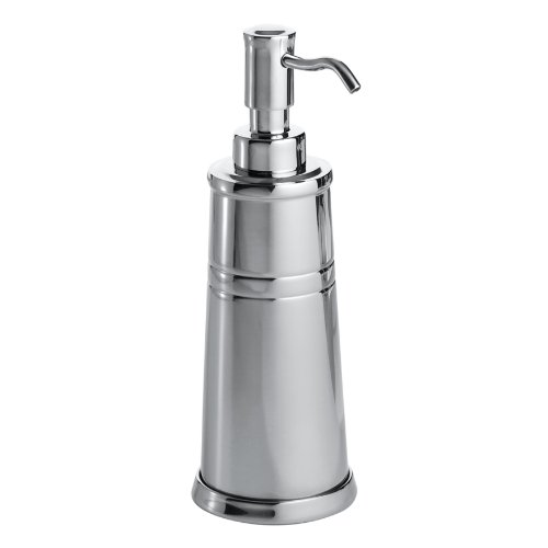 InterDesign Astor Soap Pump, Polished Stainless Steel