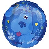 Blues Clues 18 Inch Mylar Confetti Birthday Balloon