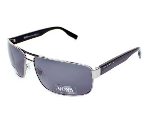 Hugo Boss 0485 85k 65TD Black-Grey Polarised