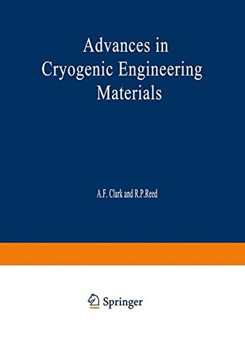 Advances In Cryogenic Engineering Materials: Volume 30