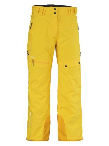 Scott Pant W's Rockell chrom yellow, XL