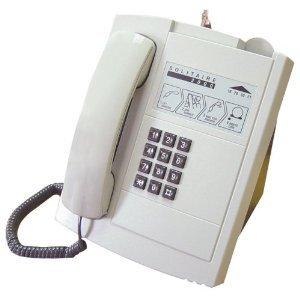 Solitaire 2000 Desktop Payphone - Light Grey image