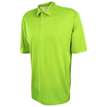 Men 39 s polos russell athletic russell big and tall dri for Big and tall athletic shirts
